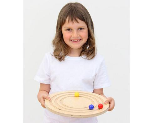 Balancier-Kreisel aus Holz-7