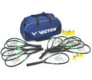Speed-Badminton Schul-Set mit Tasche