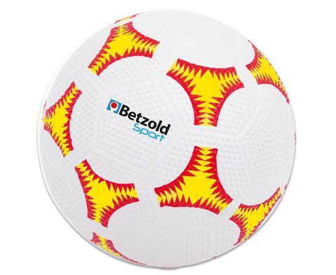 Schulhof-Fussball gelb-1