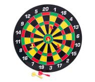 Magnetisches Dartboard, inkl. 6 Pfeilen