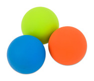 Jonglierbälle aus Gummi, 3er-Set