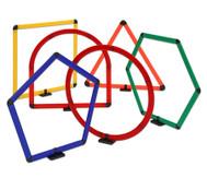 Satz mit 6 geometrischen Formen