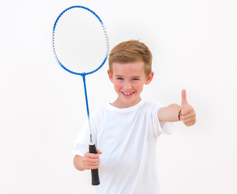 Badminton-Schlaeger einzeln-7
