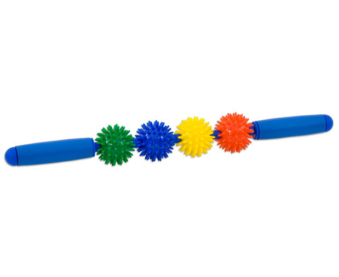Igelball Massagestab Regenbogen-1