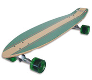 "Longboard Kicktail 36"", Infinity Green"
