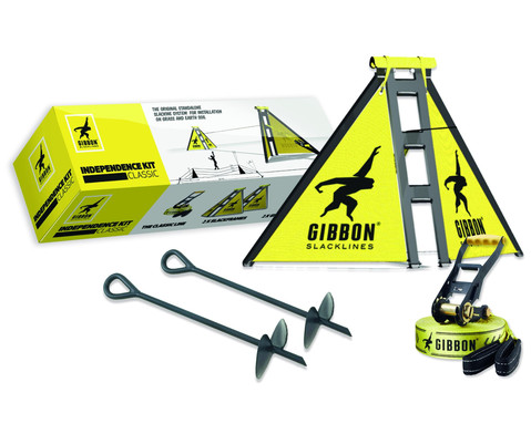 Gibbon Slackline-Set Independence Kit Classic