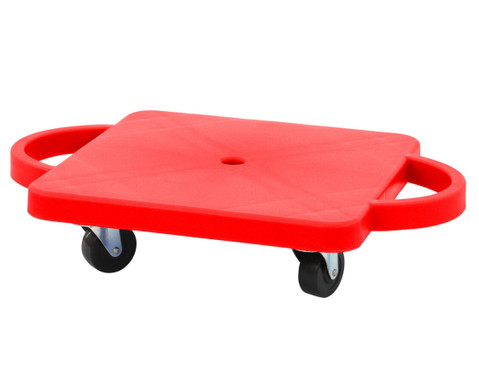 Funfahrzeuge - edumero Kleines Rollbrett Farbe rot - Onlineshop