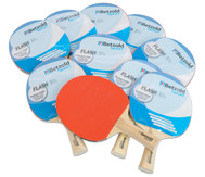 Tischtennisschläger Flash, 10er Set