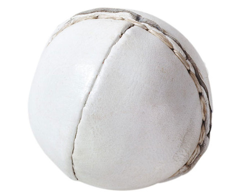 Betzold Sport Wurfball aus Leder 80 g