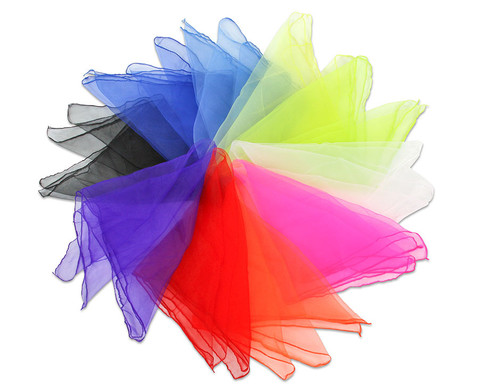 10 Chiffon-Tuecher in 10 Farben-4