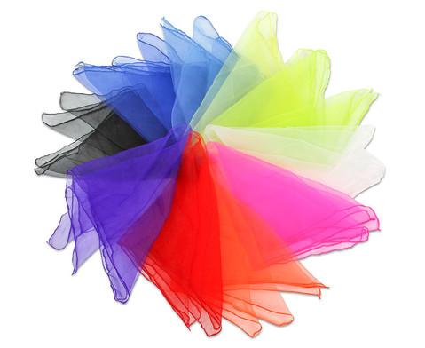 Jonglier-Tuecher 10 Stueck in 10 Farben-2