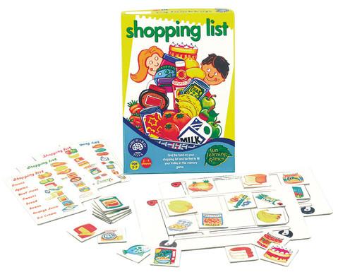 edumero Gedächtnisspiel: Shopping list