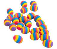 Flummy Regenbogen Ei, 24 Stück