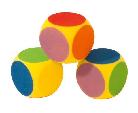 Schaumstoff-Farben-Wuerfel