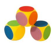 Schaumstoff-Farben-Würfel
