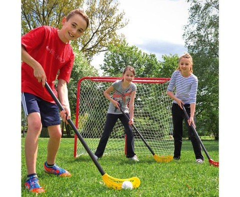 12 Unihockey-Schlaeger und 12 Lochbaelle-2
