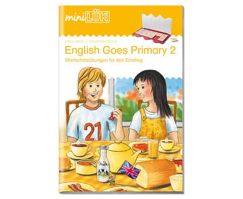 miniLUEK-Heft English Goes Primary 2-1