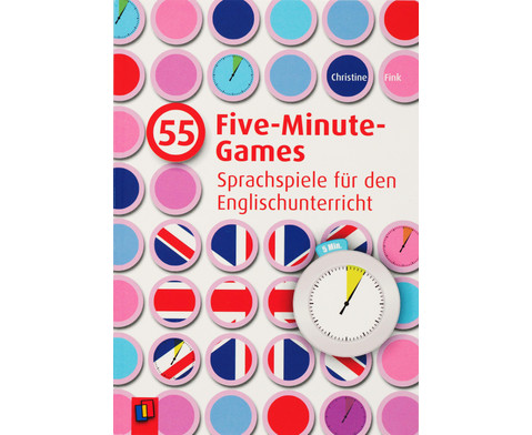 55 Five-Minute-Games Englisch