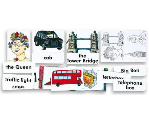 Word Picture Flashcards London-1