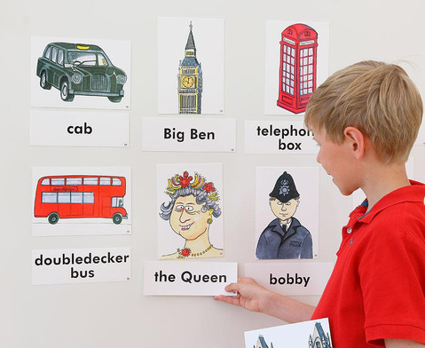Word Picture Flashcards London-3