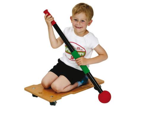 Rollbrett-Paddel mit Ball 4er-Set-2