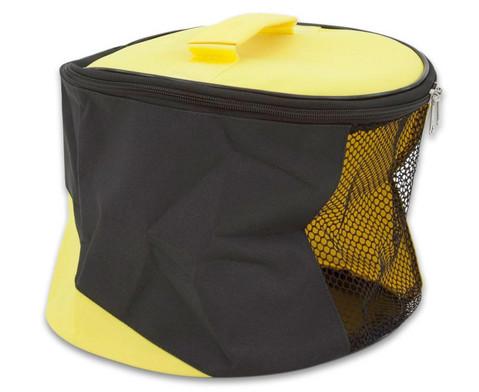 Tasche mit Netz-Einsatz 14 Liter Inhalt-3
