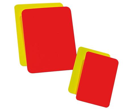 Schiedsrichter-Kartenset