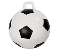 Hüpfball im Fußball-Design, 46 cm Durchmesser