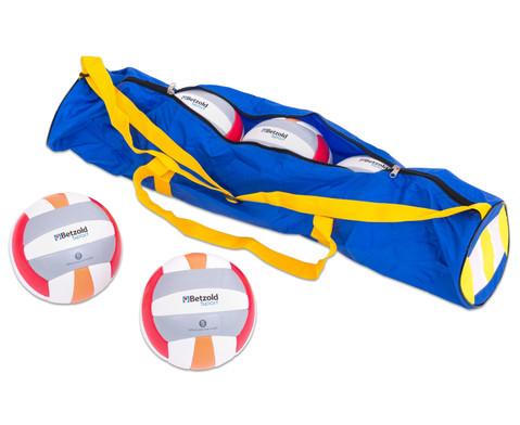 Betzold Sport Beach-Volleyball-Set mit Tragetasche