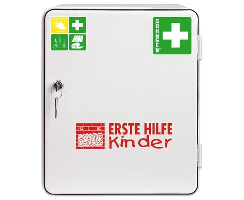 Erste-Hilfe-Verbandschrank - SCHULE-2