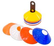 Markierungs-Teller für den Sportunterricht