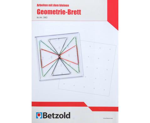 Betzold Anleitungsheft Arbeiten mit dem Geometrie-Brett