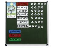 Jahreskalender in Englisch