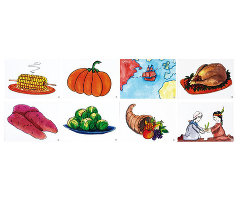 Word Picture Flashcards - Thanksgiving-2