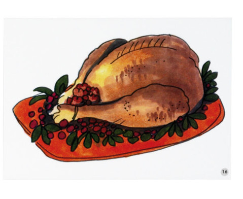 Word Picture Flashcards - Thanksgiving-7