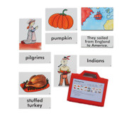 Word Picture Flashcards - Thanksgiving