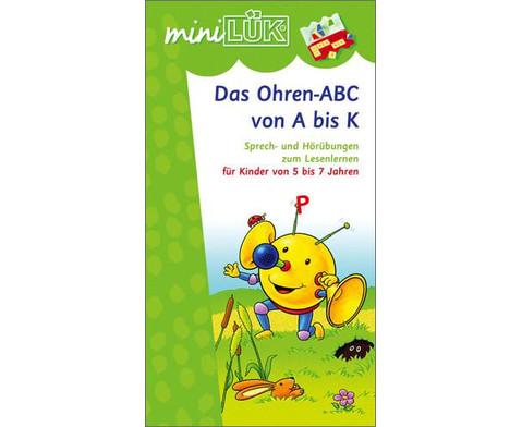 miniLUEK Das Ohren-ABC von A - K-1