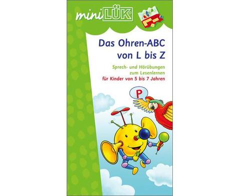 miniLUEK Das Ohren-ABC von L - Z-1