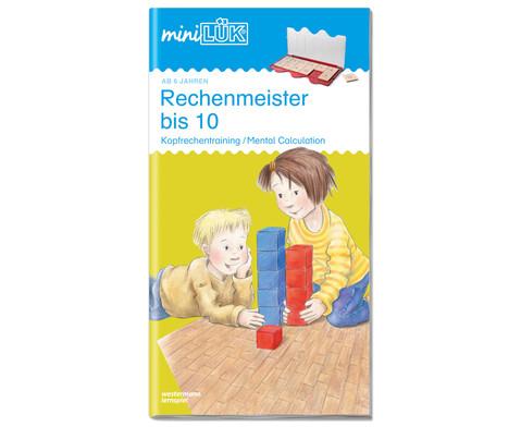 miniLUEK Rechenmeister bis 10