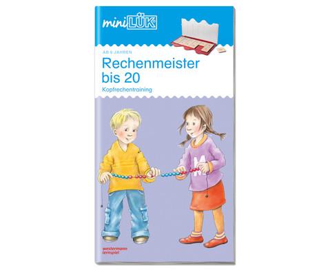 miniLUEK Rechenmeister bis 20-1