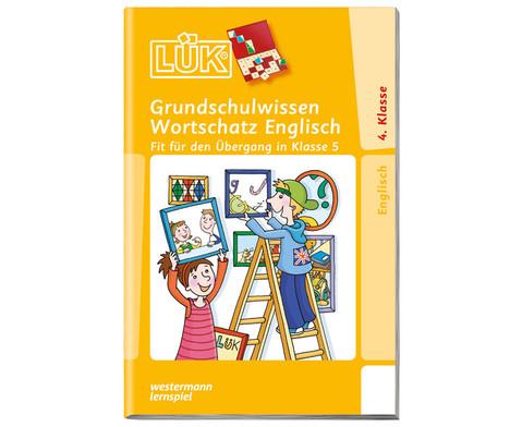 LUEK-Heft Grundschulwissen Englisch Wortschatz-1