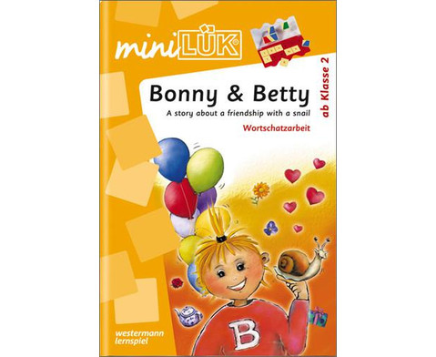 miniLUEK-Heft Bonny  Betty