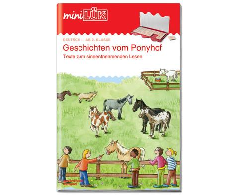 miniLUEK Geschichten vom Ponyhof