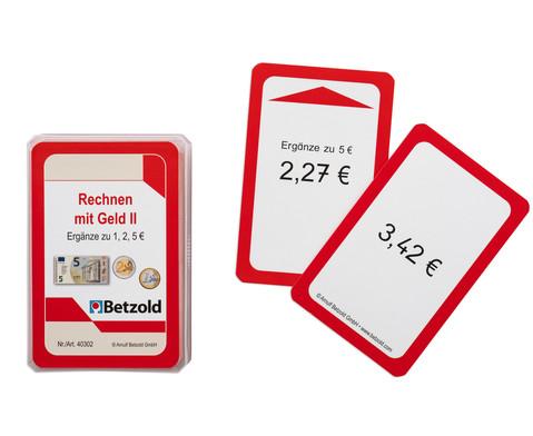 Kartensatz fuer den Magischen Zylinder - Rechnen mit Geld 2-1