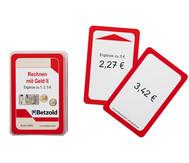 Kartensatz für den Magischen Zylinder - Rechnen mit Geld 2