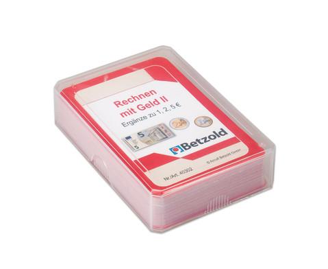 Kartensatz fuer den Magischen Zylinder - Rechnen mit Geld 2-2