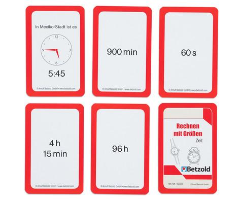 Kartensatz fuer den Magischen Zylinder - Rechnen mit Zeit-5