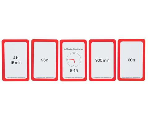 Kartensatz fuer den Magischen Zylinder - Rechnen mit Zeit-6