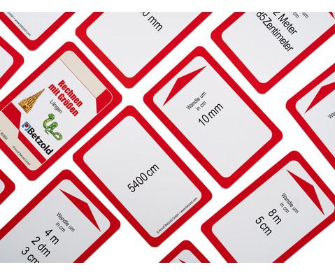 Kartensatz fuer den Magischen Zylinder - Rechnen mit Laengen-3