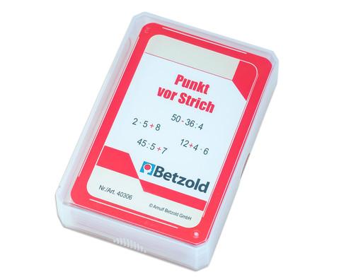 Kartensatz fuer den Magischen Zylinder - Punkt vor Strich-1